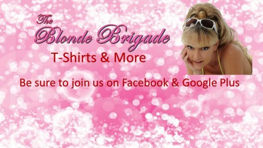 The Blonde Brigade Custom Shirts & Apparel